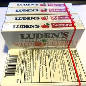 Supreme Other - 5 boxes of Supreme X Ludens Cough Throat Drops